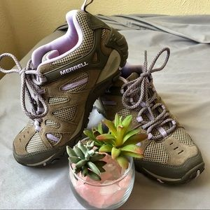 Merrill Performance Footwear 6.5 Brindle Lavender